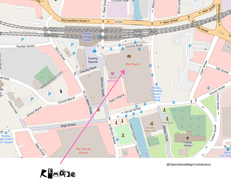 map of remode@the piazza